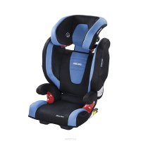 Автокресло Recaro Monza Nova IS Seatfix black, 2/3 (15 кг-36 кг)