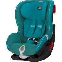 Детское автокресло Britax Romer King II LS Black Series Green Marble Highline